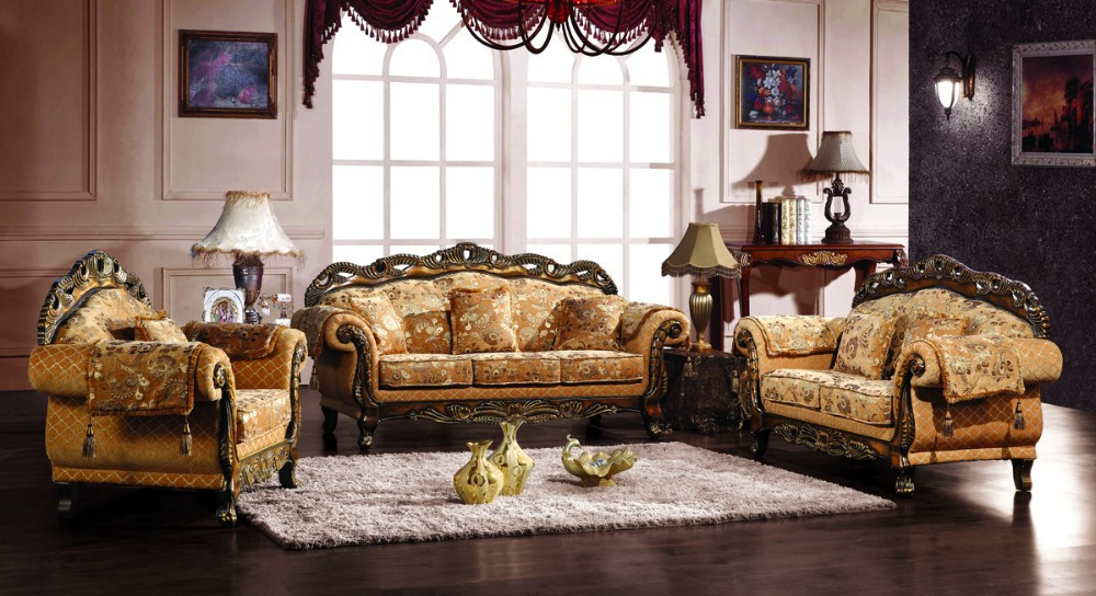 European Style Fabric Sofa Set For Royal Furniture Living Room Buy Royal Fu
