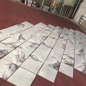 Muestra gratis Italia Milas Lila/Nueva York mármol blanco 60*60 Baño de azulejos de piso