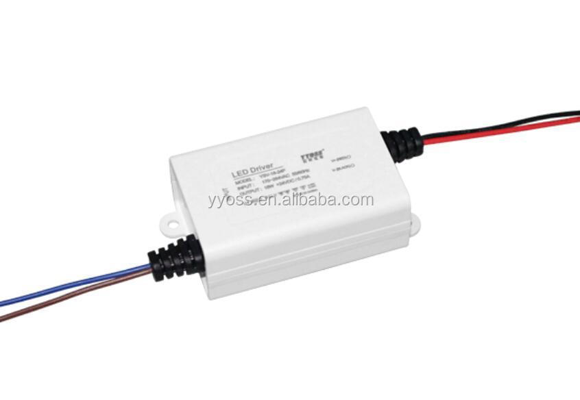 Wholesale CE.ROHS approved AC/DC 18W LED power supply 12V/24V36V/48V1a dc regulated power supply YSV-18-24P