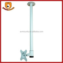 """Universal Pole hanging height fixing fits 13""""-24"""" monitors of 360 degree swivel ceiling tv mount"""