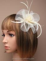 Fashionable Bridal Hair Accessories Flower Fascinator