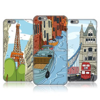 DOODLE CITIES SERIES 2 Design Mobile Phone Cover Lovely Style