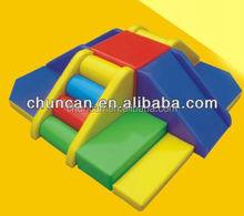 Indoor play area baby soft slides kids soft play kindergarten or home use indoor playground