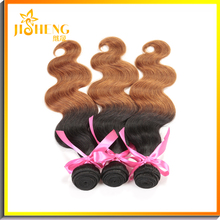 New Fashion Styles 1B #30 Body Wave Hair Weave in Bulk Two Tone Human Hair Ponytail