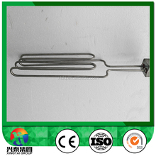 High watt high efficiency Industrial water immersion heater with square flange