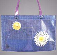 transparent plastic pvc beach bag