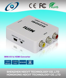 2015 Newest 3 rca to hdmi converter