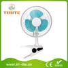"""6"""" Mini Table Clip Electric Fan Hydroponic Horticulture Greenhouse"""