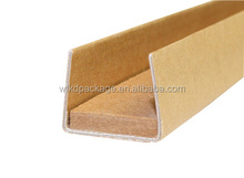 cardboad waterproof/moistureproof edge corner guard protector/papery packaging materials