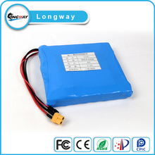 14s1p 52v 2.2ah Lithium Ion battery pack for unicycle with samsung battery cells