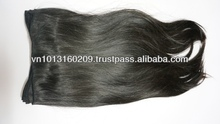the best common hair requested brazil double drawn machine weft human hair