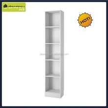 home furniture wood height narrow wood bookcase
