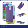 TPU color blocking back case cover for samsung galaxy S5