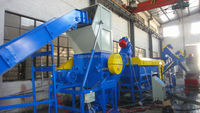 Washing Line -PE or PP or PVC hdpe ldpe film waste plastic washing recycling plant