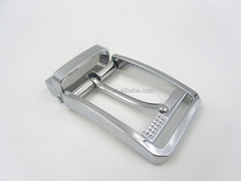 35 mm Fashion High Quality Silver Plated Metal Men Belt Buckle