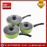 Hot Sale Aluminum Forged Stone Coating Induction Milk Boiling Pot