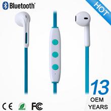Hot sale neckband wireless headphone bluetooth smart plug in-ear earphone Phone accessory