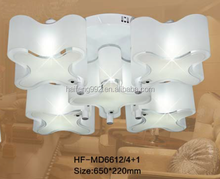 family pendant light with PC cover/modern crystal LED ceiling light
