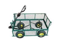 TC1840AP Baggage Pushcart Flatbed Mesh Tool Cart