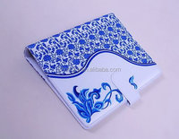 blue and white porcelain style diary cover
