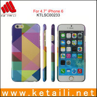 2015 New Design Plastic Creative Mobile Phone Cover for iphone 6