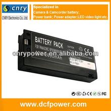 High Capacity Digital Camera Battery 12V 2000mAh VW-VBF2E VW-VBF2T BP50 For Panasonic Rechargeable Battery Packs