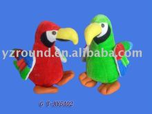 gorgeous animated plush parrot stuffed toys