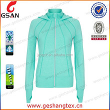 nylon spandex sport coat woman