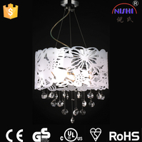 2016 New product for restaurant ceiling decoration and oil lamp glass of chinese chandelier NS-120133
