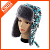 good quality hot sale promotional warm leifeng camo earflap hat