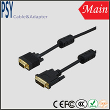 High Resolution DVI to VGA cable support 2560*1600 60/120hz