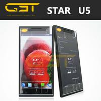 """Wholesale cellphone unlocked 5.5"""" QHD screen IPS 960 x540 pixels 1gb+4gb MT6582M-1.3 GHz 8MP star U5 phone"""