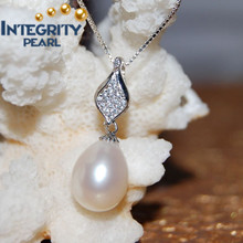 2015- Nuevo diseño de collar de perlas de agua dulce natural