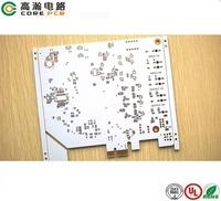 immersion gold pcb milling rigid aluminum based led strobe light pcb