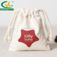 cotton cnavas cute draw string bags for jewelry