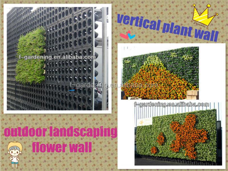 Vertical garden decorative wall panels interior wall for Vertical garden panels