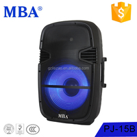 Wireless 15 inch Speaker audio audio amplifer professional speakers