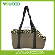 Voguish Leopard print Medium Dog Pack Travel Pet Carrier Tote Bag