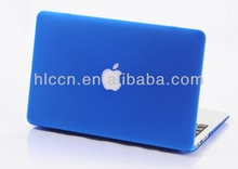 Crystal rubberized hard case for macbook pro 13