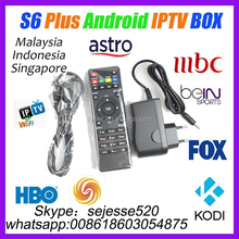 2016 IVIEW S6 plus Android IPTV Box Malaysia Pack Watch 160+ Astro Live TV Euro Football Games Indian Channels Replace Starhub
