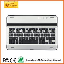 Ultra thin keyboard For iPad\pad,Bluetooth Aluminum Keyboard