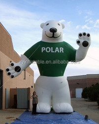 2015 Newest giant inflatable bear for sale