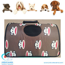 canvas colorful carrier bag for small dog