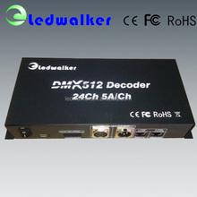 mini dmx512 decoder,control 170pixels,dmx to PWM