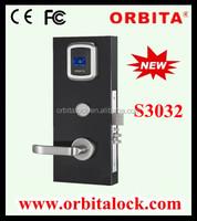 Smart rf card access door lock for hotel system