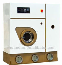 Automatic perc or hydrocarbon laundry used dry cleaning machine