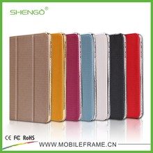High Qulity Hot Selling Flip Leather Tablet Case for iPad Mini, Leather Case for iPad Mini, Tablet Stand Cover