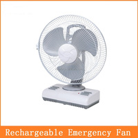 14 inch rechargeable solar battery operated oscillating fan