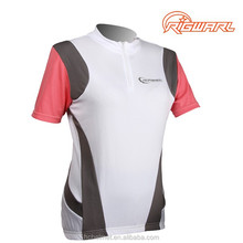 HC Professional Summer Sublimation Short Sleeve High quality Women Bicycle Jersey With OEM Service