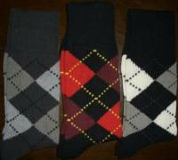 High quality mixed colour cotton man socks
